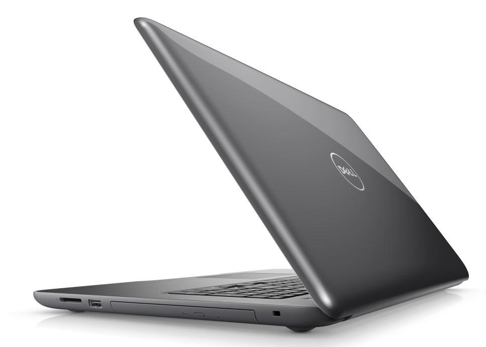"""Dell Inspiron 5767 FHD 17"""" i7-7500U/16GB/2TB/R7 M445-4G/MCR/HDMI/RJ45/DVD/W10/2RNBD/Šedý"""