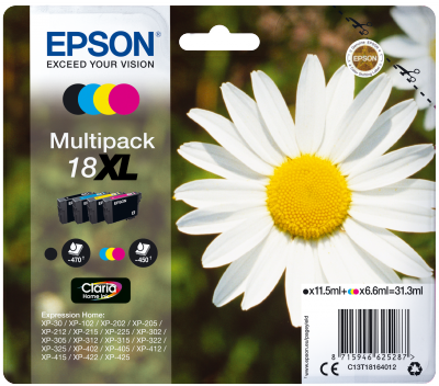 Epson Multipack 4-colours 18XL Claria Home Ink