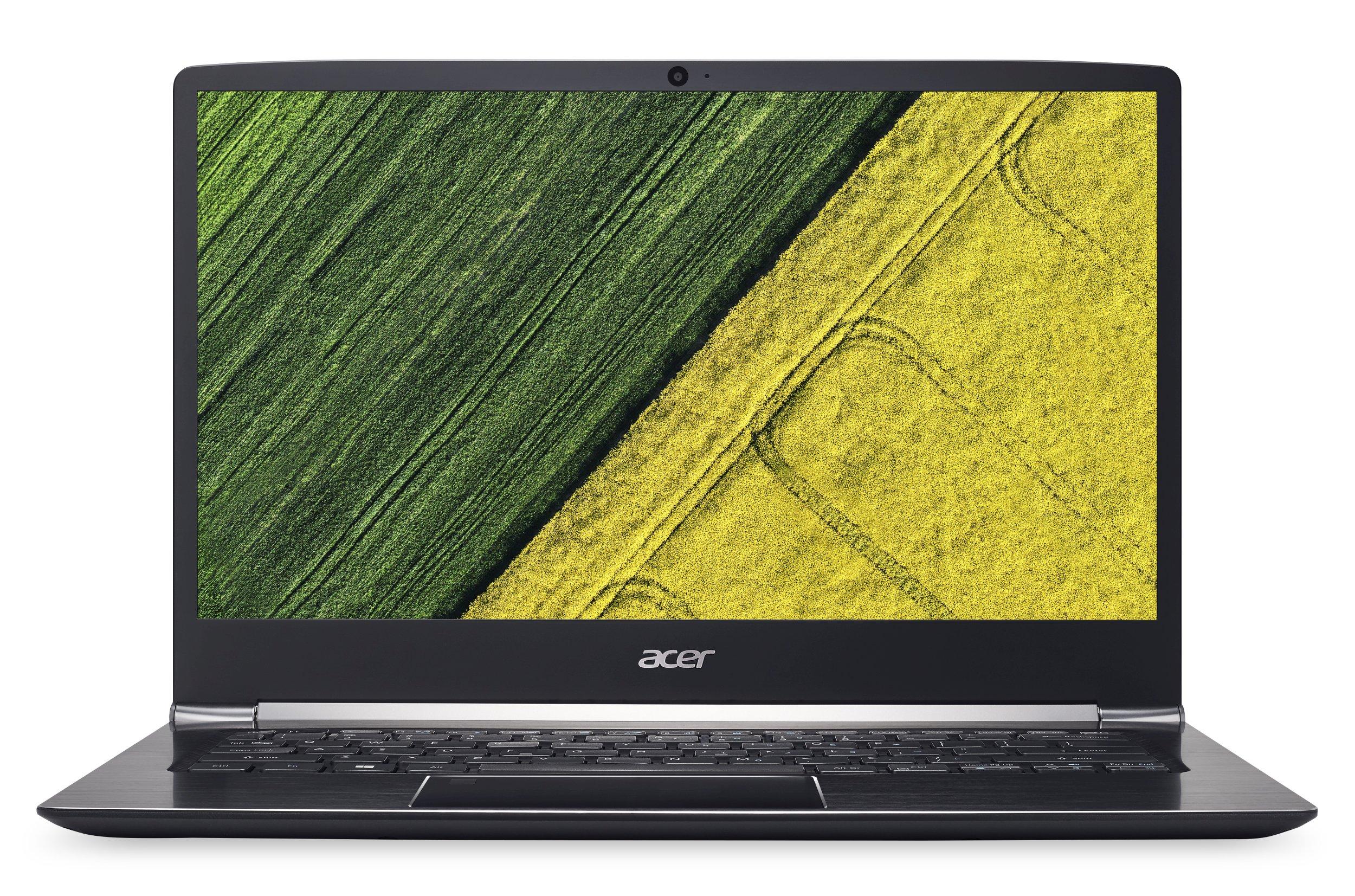 "Acer Swift 5 (SF514-51-5763) i5-7200U/8 GB+N/256GB PCIe SSD M.2+N/A/HD Graphics /14"" FHD lesklý IPS/W10 Home/Black"