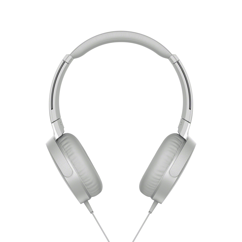 SONY MDRX-B550AP Sluchátka EXTRA BASS & DJ type - headband - White