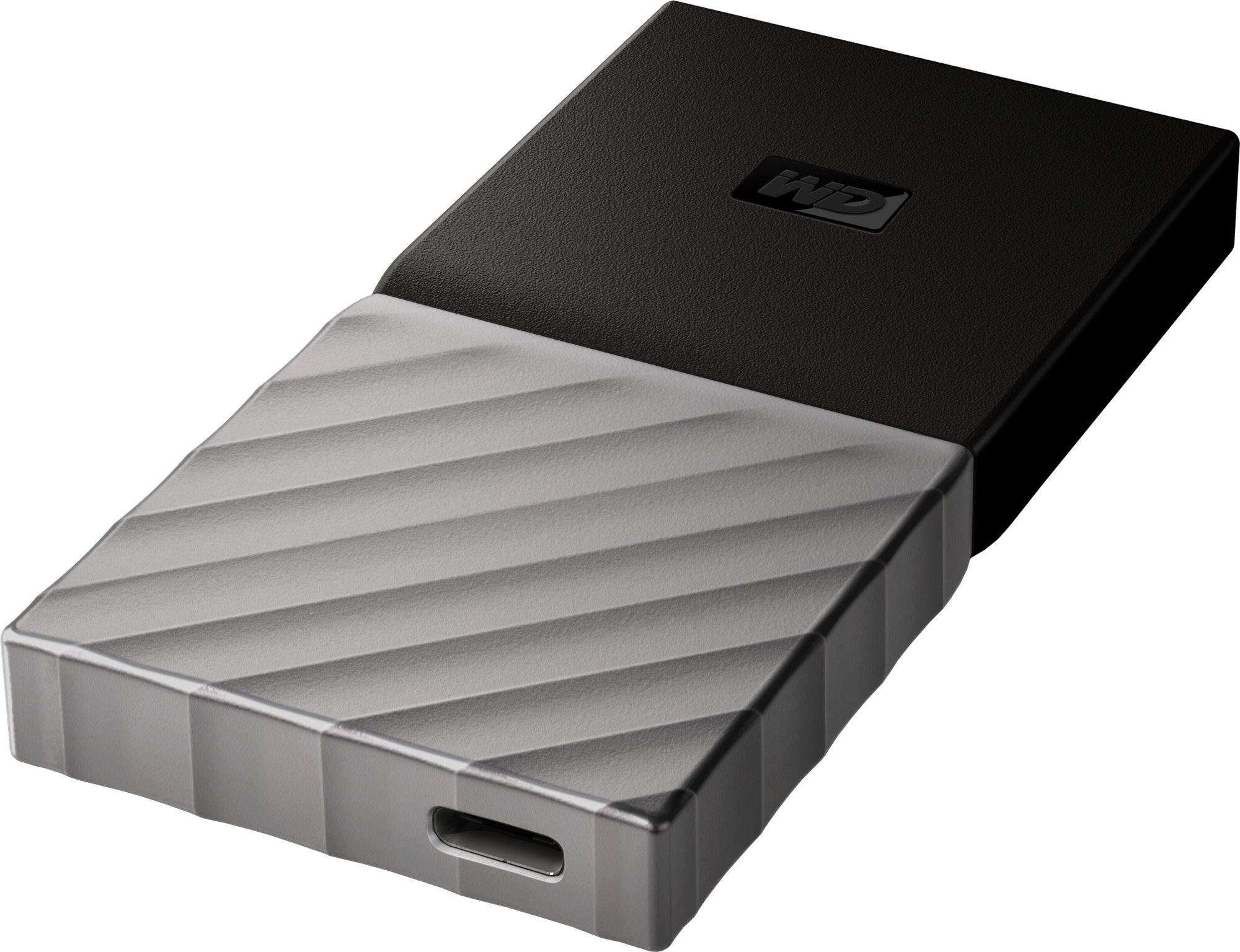 WD My Passport SSD 256GB Ext. USB3.1 Type C , Silver/Black