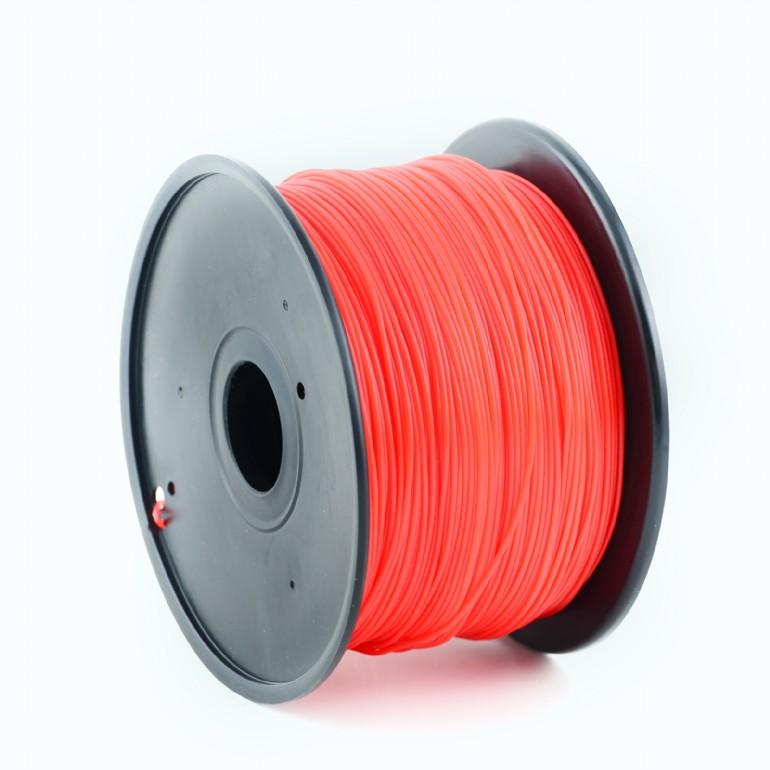 Tisková struna (filament) GEMBIRD, PLA, 1,75mm, 1kg, červená