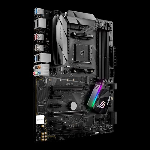 ASUS MB Sc AM4 ROG STRIX B350-F GAMING, AMD B350, 4xDDR4, VGA