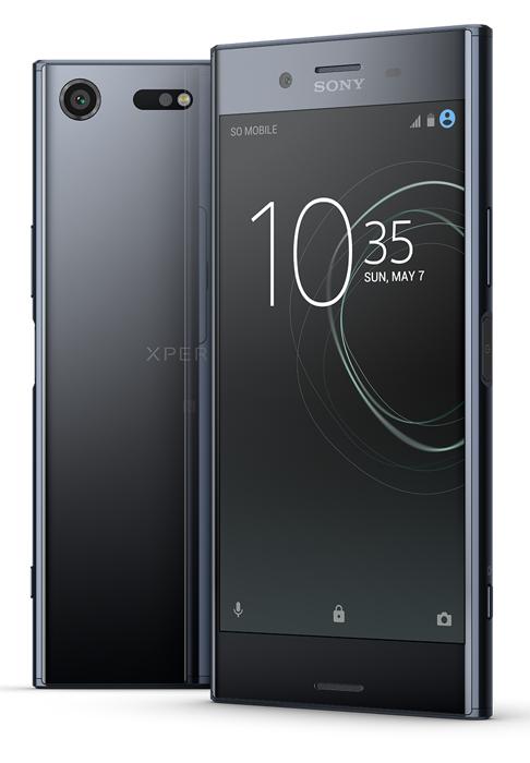 Sony Xperia XZ Premium Dual (G8142), černý chrom