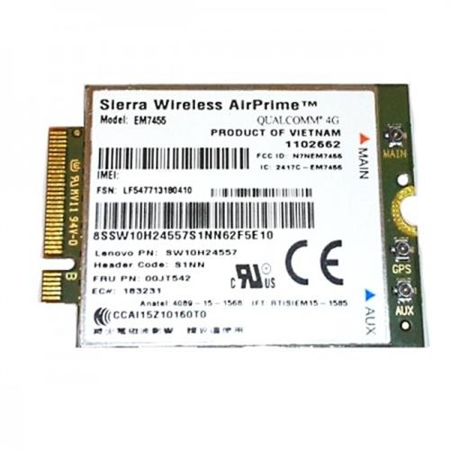 Lenovo 4G EM7455 Mobile Broadband LTE X270/L470/T470/T470s/T570/P50s