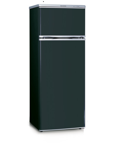 KS 9794 kombi. chladnička 166+46l černá