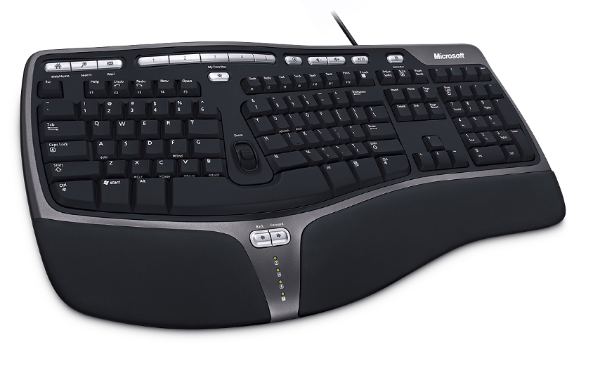 Natural Ergonomic Keyboard 4000 USB CZ černá