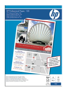 HP Professional Injekt Paper,A3,mat,120g,100ks