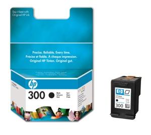HP CC640EE Ink Cart No.300 pro DJ F4280, D2560, D2660, 4ml, Black