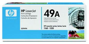 HP Q5949A Toner 49A pro LJ 1320/1160, (2500str), Black