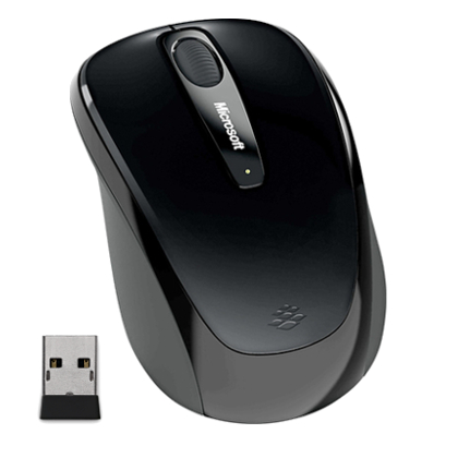 Wireless Mobile Mouse 3500 Mac/Win Black