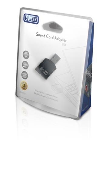 SWEEX USB zvuková karta - SC010V2
