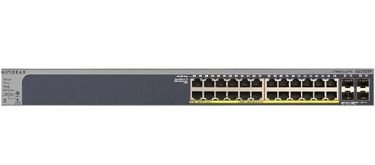 NETGEAR 24xGb PoE Smart switch,192W, GS728TP