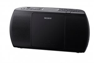 SONY ZS-PE40CP Tenké a elegantní přenosné rádio - Black