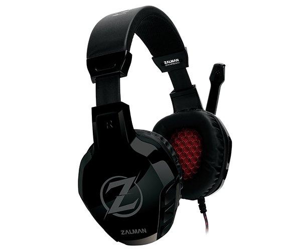 Zalman herní sluchátka s mikrofonem ZM-HPS300 50mm driver, 3,5 mm Jack