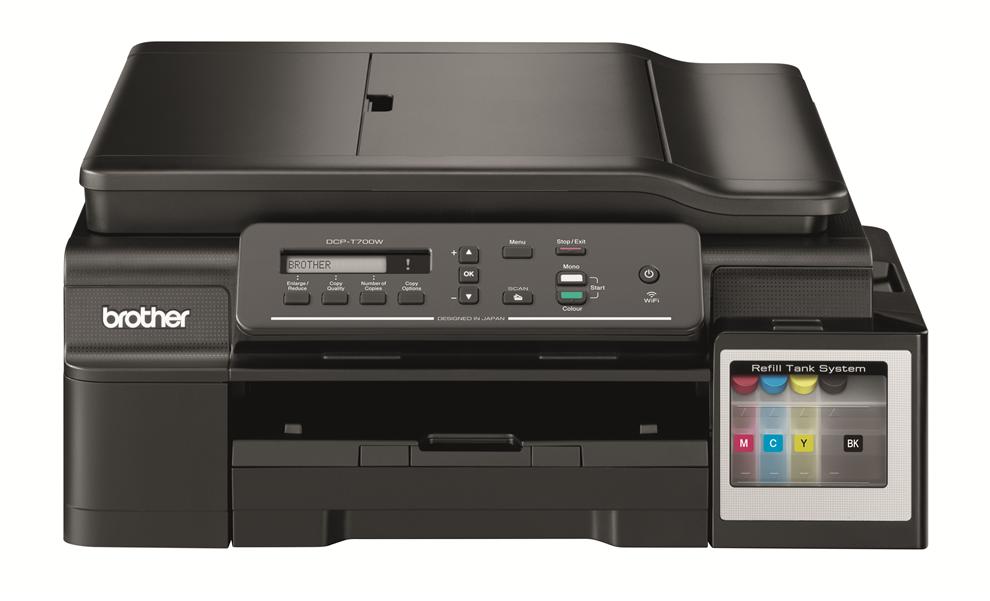 Brother DCP-T700W (tisk./kop./sken.), WiFi, ADF, ink benefit plus