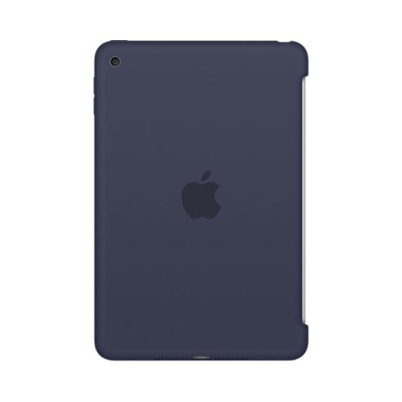 Apple iPad mini 4 silikonové pouzdro půlnočně modré