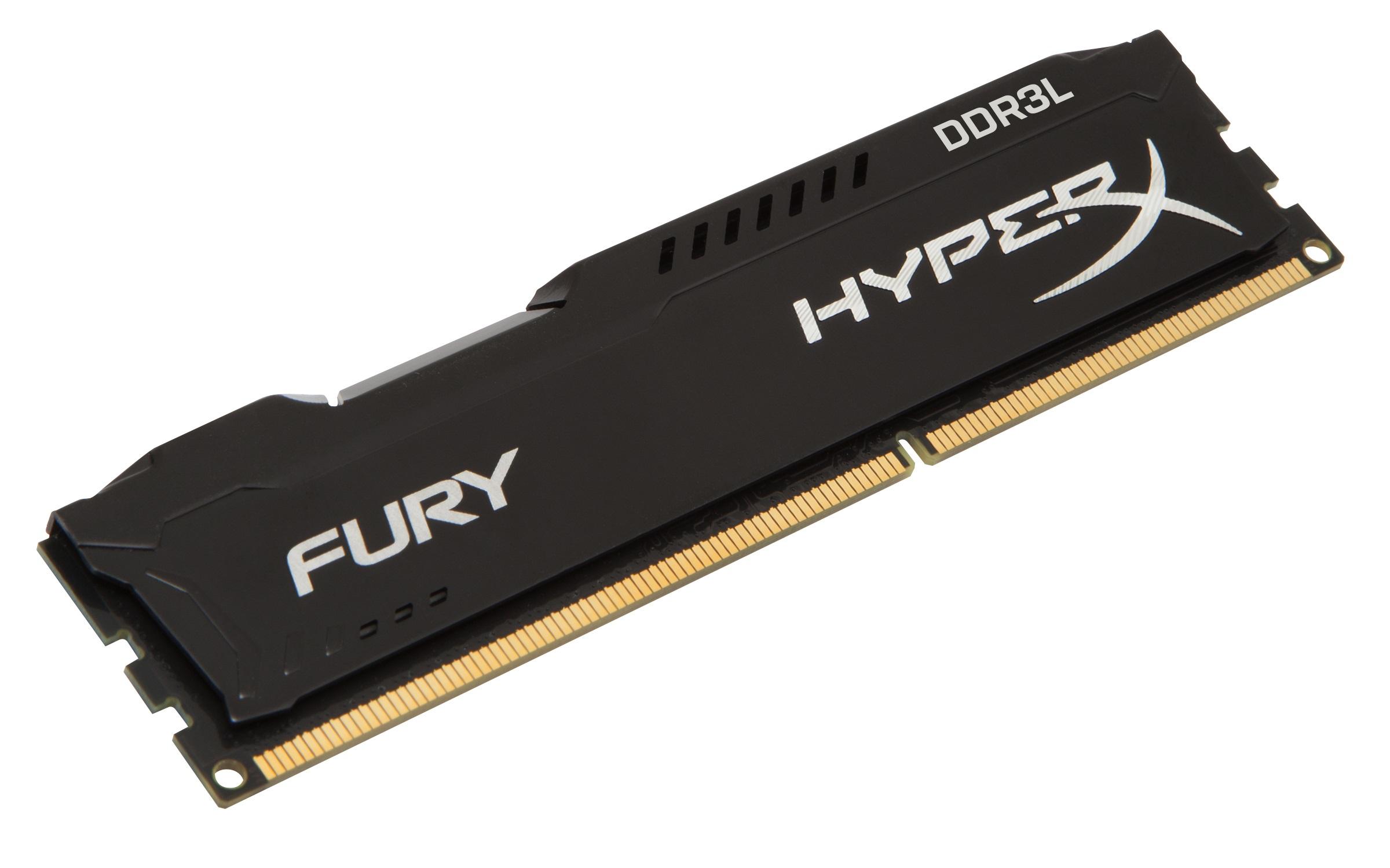 4GB DDR3L-1600MHz Kingston HyperX Fury Black