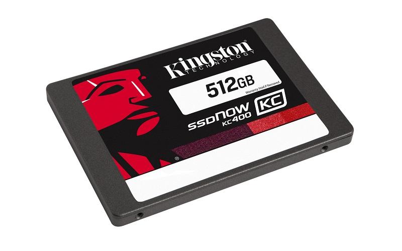 512GB SSD Kingston KC400 SATA 3 2.5 (7mm) kit