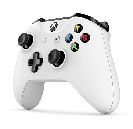 XBOX ONE - Bezdrátový ovladač Xbox One S bílý [Crete]