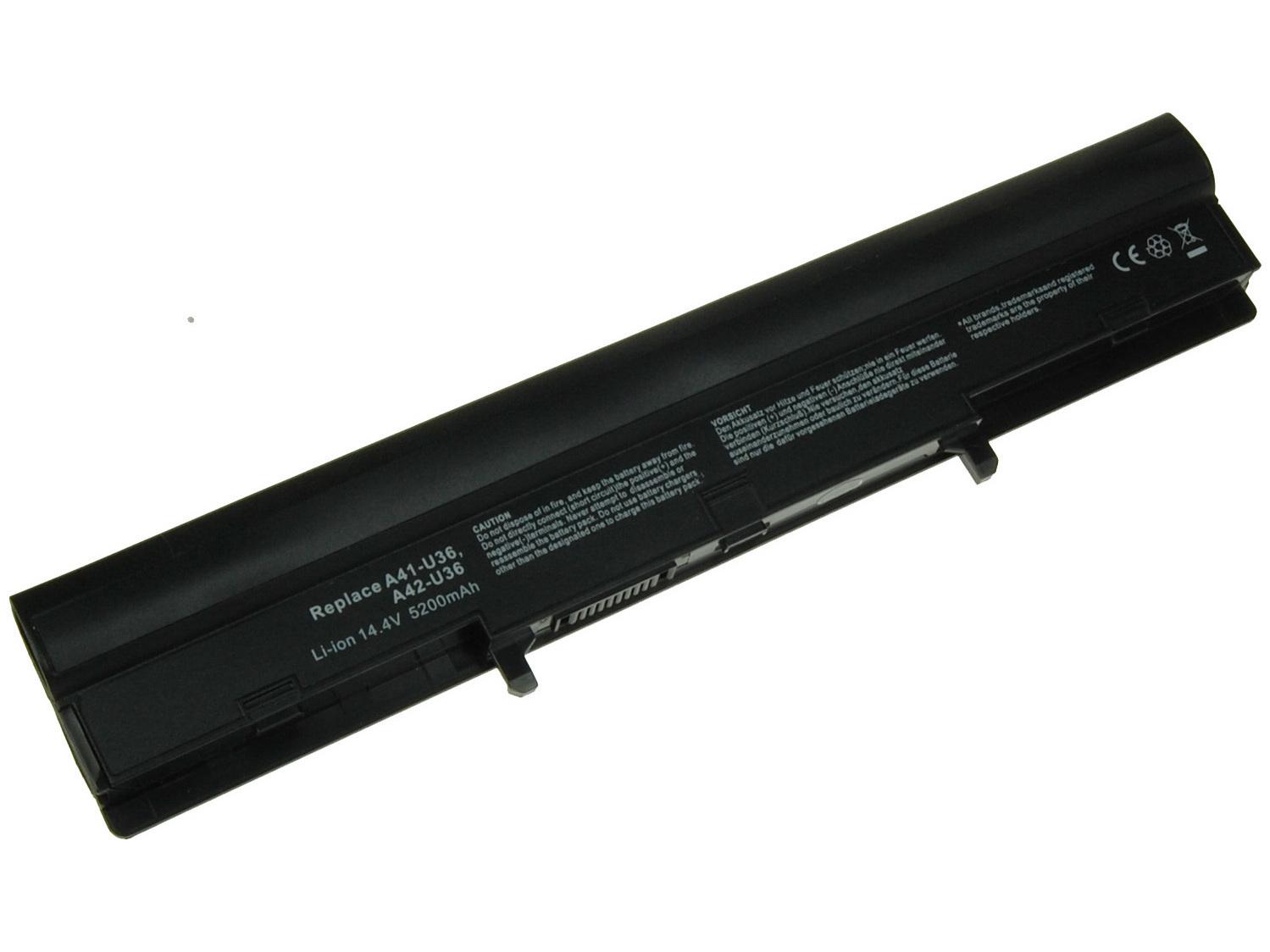Baterie AVACOM NOAS-U36H-S26 pro Asus U36, U82, X32 Li-Ion 14,8V 5200mAh