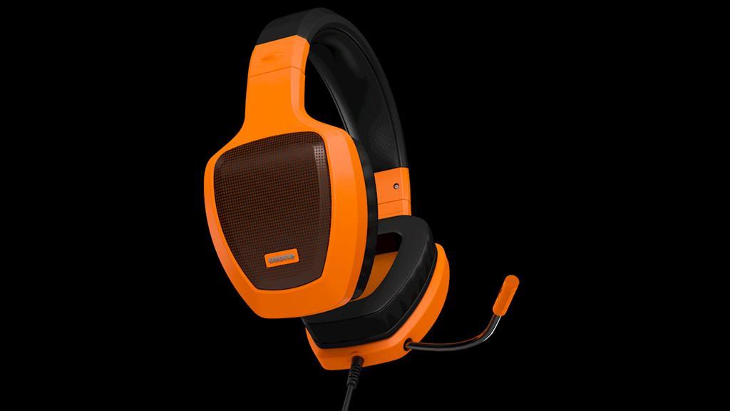 Ozone herní sluchátka RAGE Z50 oranžové