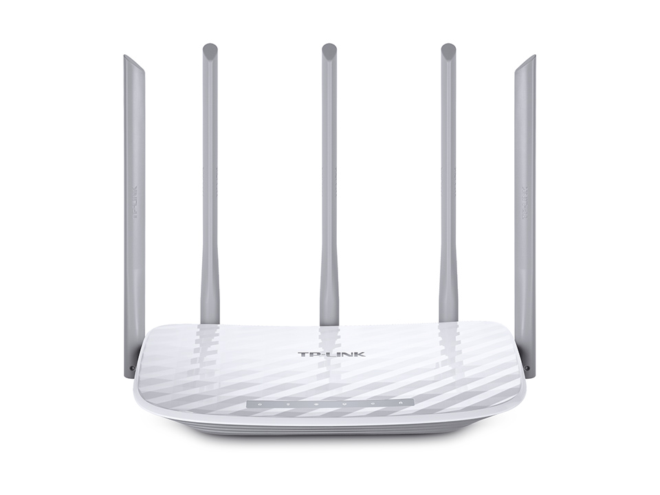 TP-Link Archer C60 AC1350 Dual Band Wireless Router, Qualcomm, 867Mbps/5GHz+450Mbps/2.4GHz, 802.11ac/a/b/g/n, 5x fix.ant