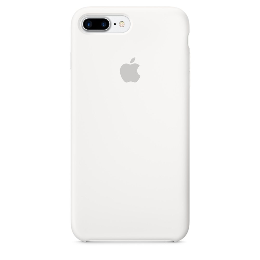 iPhone 7 Plus Silicone Case - White