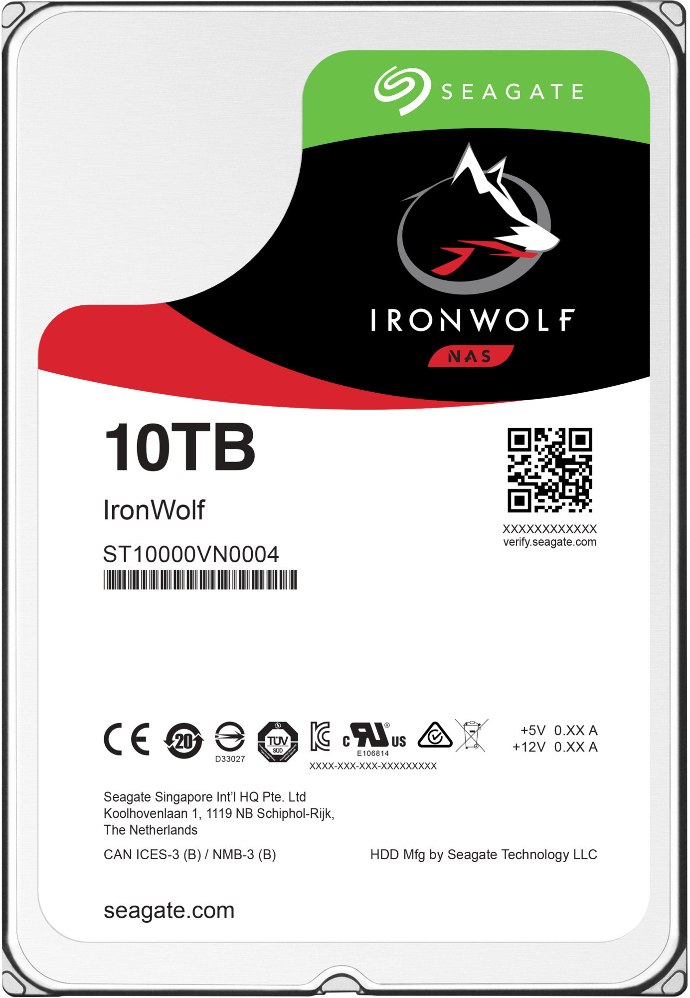 HDD 10TB Seagate IronWolf Pro 256MB SATAIII NAS 5R