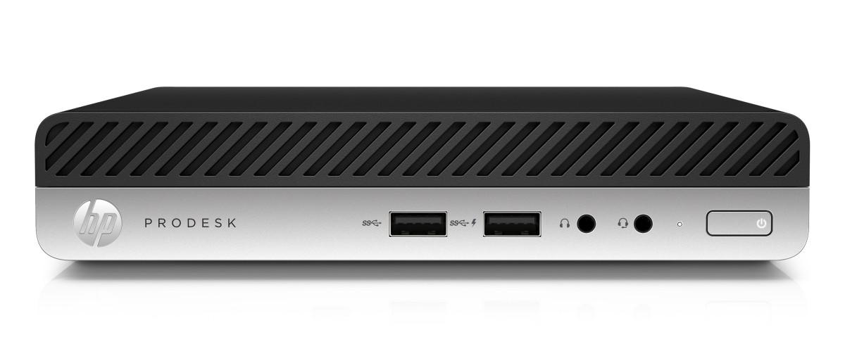 ProDesk 400G3 DM i3-7100T/4GB/500GB/Intel HD/DVD-RW/Win 10 Pro