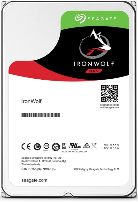 Seagate IronWolfPro HDD 3.5'' 2TB SATA3 7200RPM 128MB
