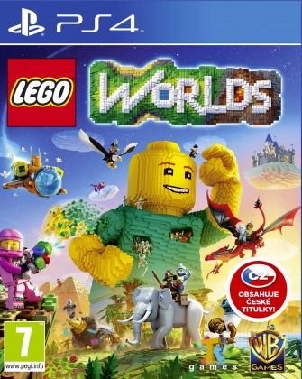 Warner Bros. PS4 hra LEGO Worlds
