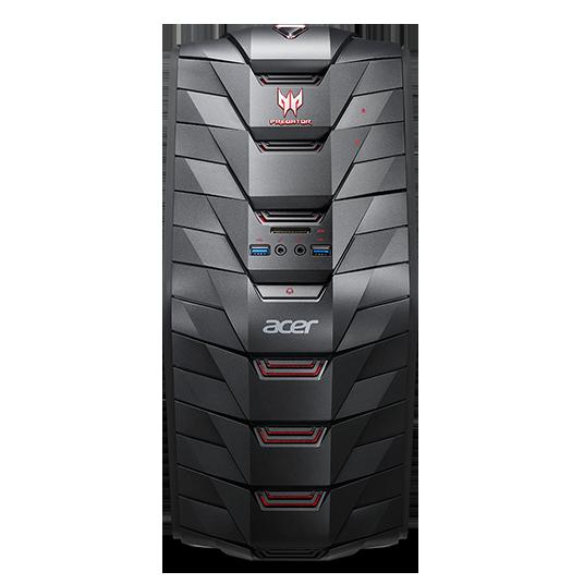 Acer Aspire G3-710_H Predator Ci5-7400 /4GB+4GB/8G+1000G / GTX 1060 6GB DVI-D/HDMI/DP /DVDRW/BT/USB/W10 Home