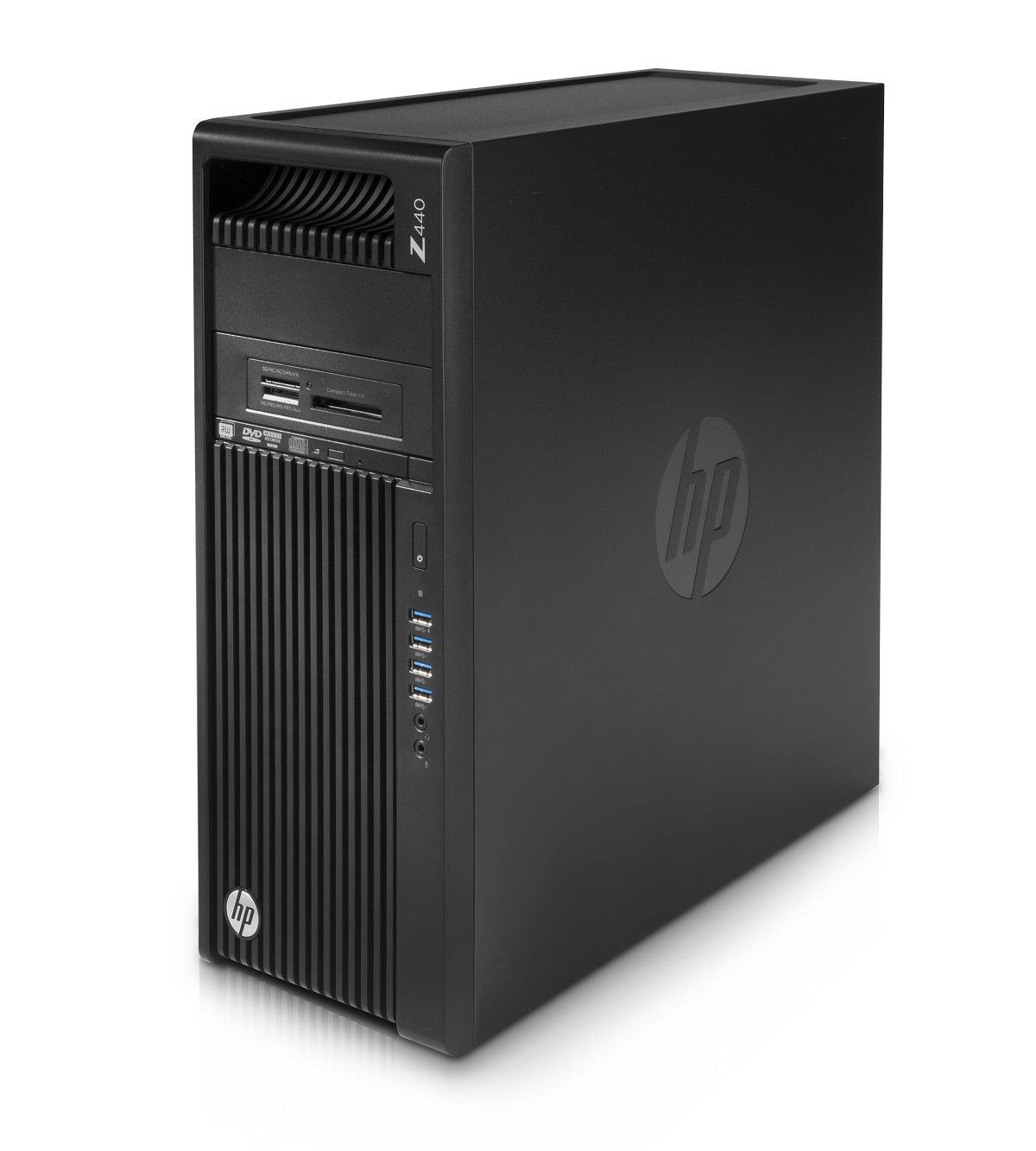 HP Z440 Xeon E5-1620v4 4c, 700W zdroj, 1TB, 2x8GB DDR4-2400 ECC,DVDRW, no VGA, no keyb, USB laser mouse, Win10Pro