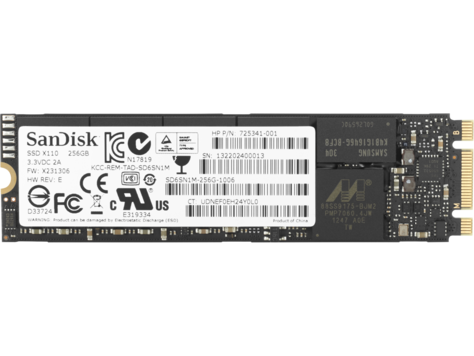 M.2 SSD disk HP Turbo Drive G2 - 256 GB