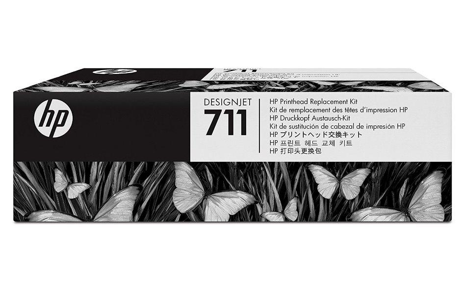 HP C1Q10A No. 711 Sada pro výměnu tiskové hlavy pro Designjet T120