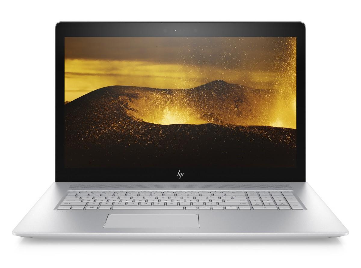 """HP Envy 17-ae005nc/Intel i5-7200U/8GB/256 GB SSD + 1TB/Nvidia GF 940MX 2GB/17,3"""" FHD/Win 10/stříbrná"""