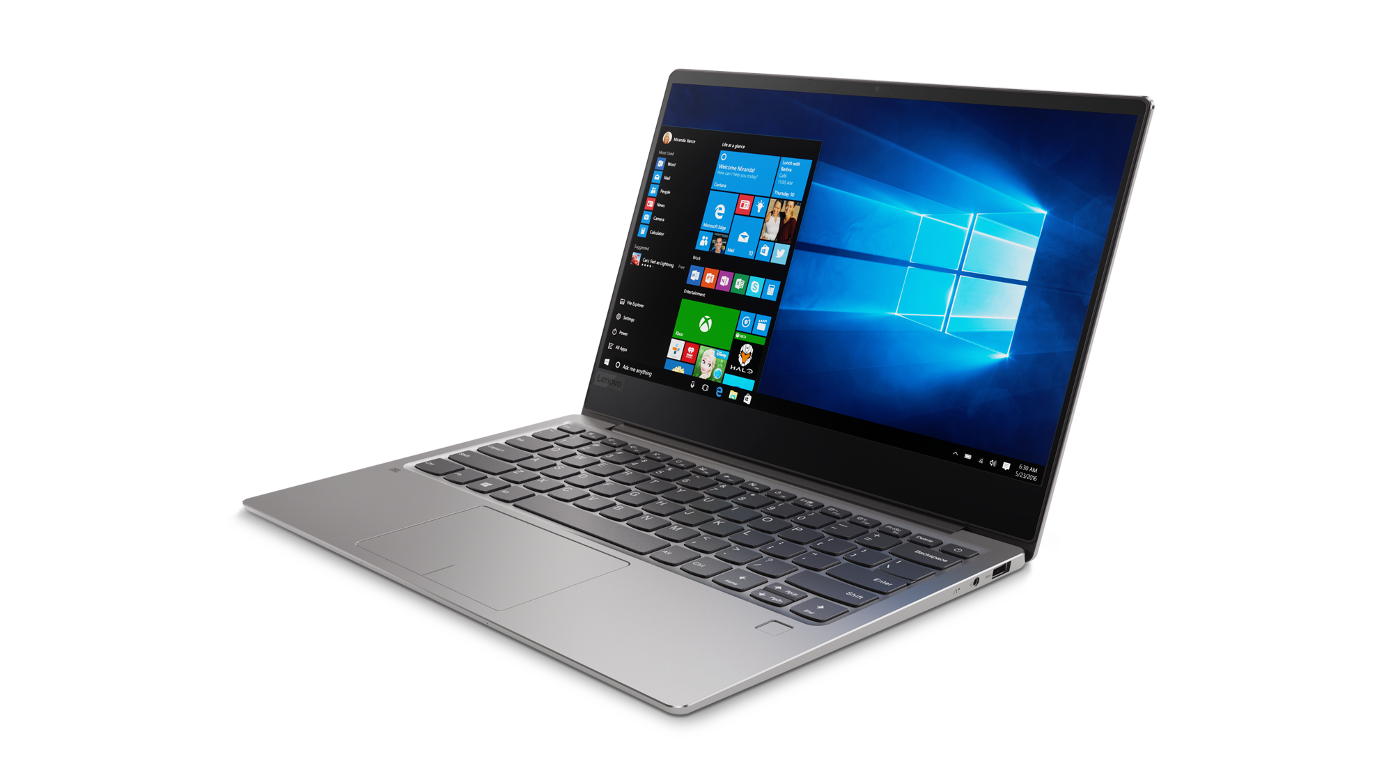 "Lenovo IdeaPad 720S-13IKB i5-7200U 3,10GHz/8GB/SSD 256GB/13,3"" FHD/IPS/AG/FPR/Thunderbolt 3/WIN10 šedá 81A8001LCK"