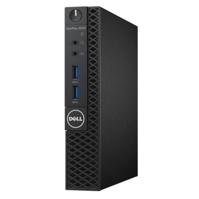 Dell PC Optiplex 3050U Micro i5-7500T/8G/500GB/WiFi/DP/HDMI/W10P/3RNBD/Černý