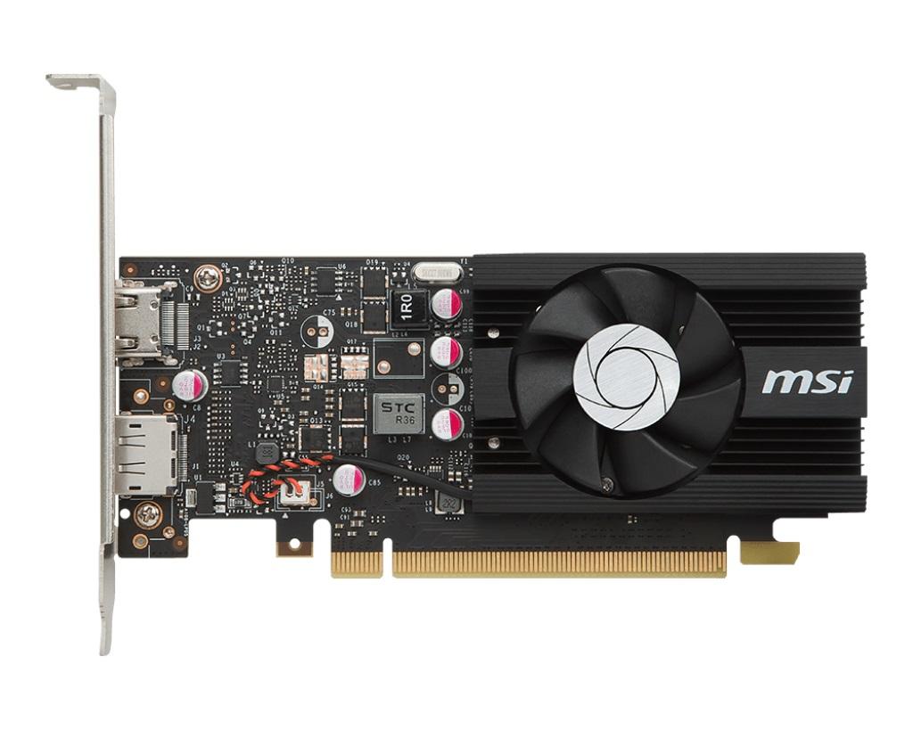 MSI GT 1030 2G LP OC, 2GB GDDR5, PCIe x16 3.0, 64bit, HDMI, DP