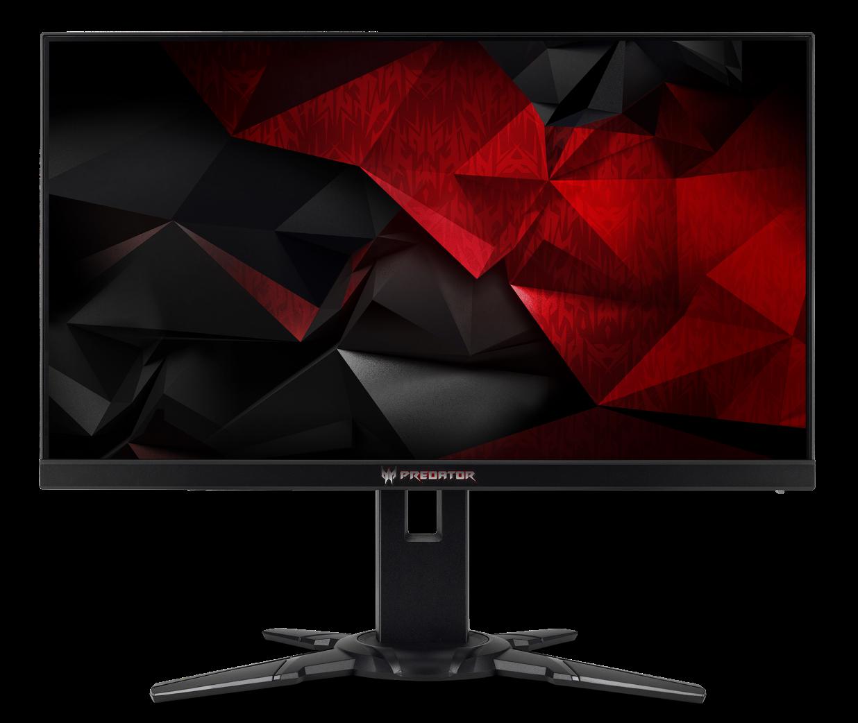 """24,5"""" LCD Acer Predator XB252Q - TN,FullHD,1ms,240Hz,400cd/m2, 100M:1,16:9,HDMI,DP,USB,repro,pivot"""