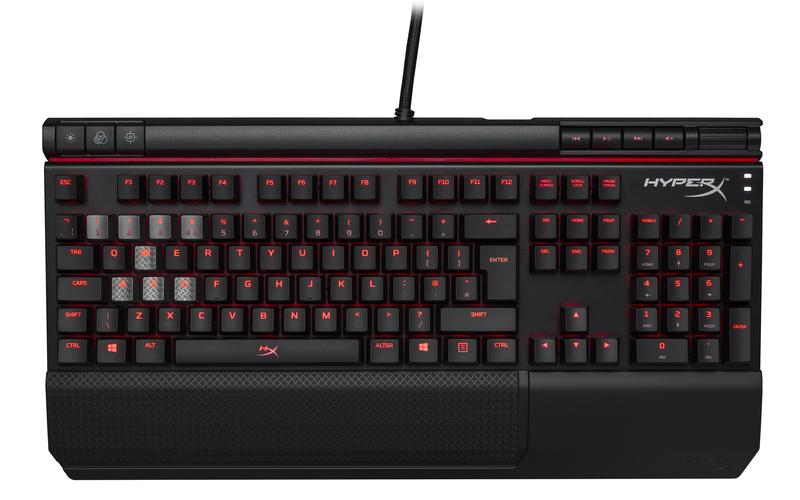 HyperX Alloy Elite Mechanical Gaming Keyboard,MX Brown-US2