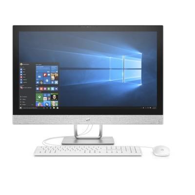 "HP Pavilion 27-r011nc/AiO/27""/Intel i5-7400T/8GB/128GB SSD + 1 TB/AMD R530 2GB/ DVDRW/Win 10 Home"