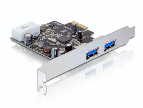 Delock karta PCI Express -> 2x USB 3.0 + low-profile panel