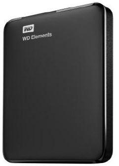WD Elements Portable 2.5'' externí HDD 1TB, USB 3.0, SmartWare SW, černý