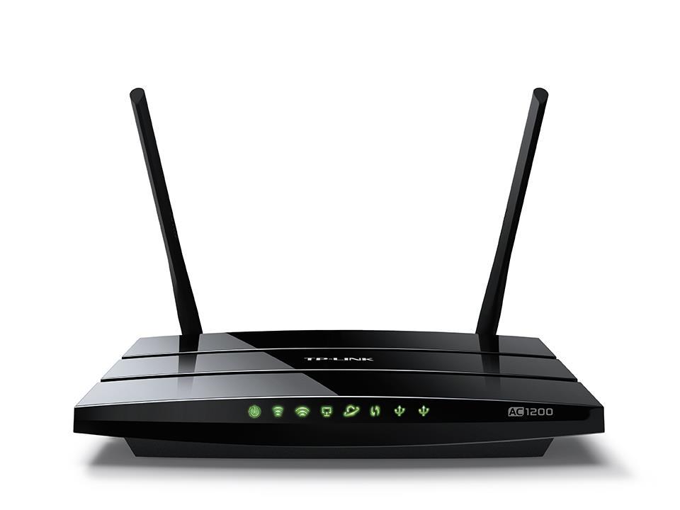 TP-Link Archer C5 AC1200 Dual band Wireless 802.11ac Gigabit router 4xLAN, 2xUSB