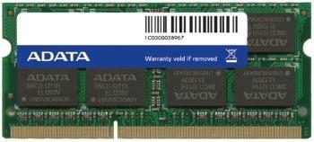 ADATA 4GB 1600MhHz DDR3 CL11 SODIMM 1.5V, Retail