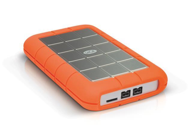 LaCie externí HDD Rugged Triple 500GB, 2.5'' USB 3.0 & FW800, 7200RPM, 8MB