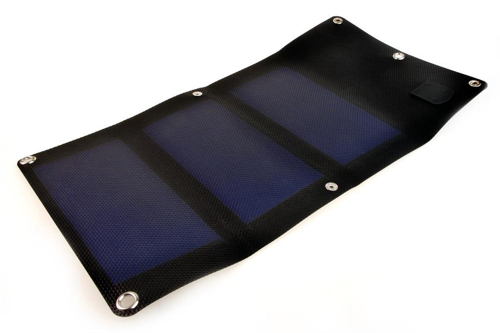 PowerNeed Sunen Flexibilní solární nabíječka 3W, černá