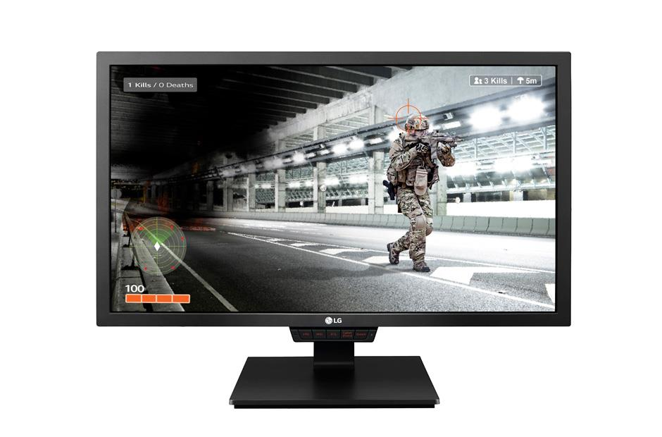 LG Monitor LCD 24GM79G-B 24'' TN, FHD, 1ms, DP, 2xHDMI, USB, black